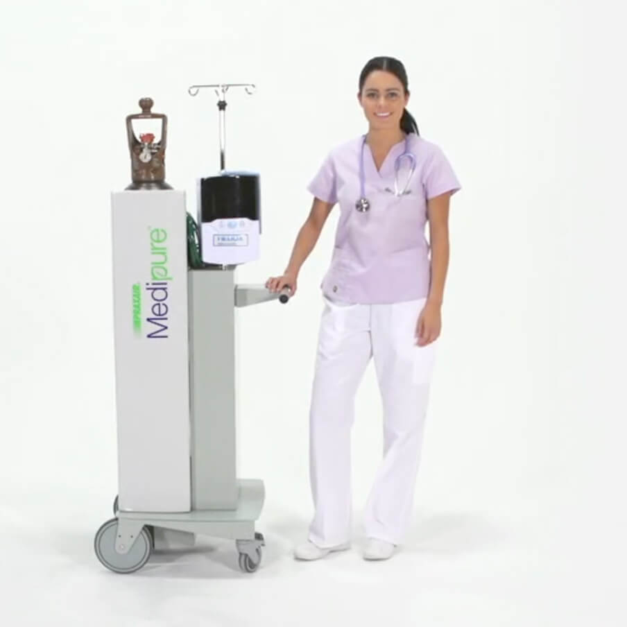 How to deliver heliox - Precision Flow Heliox Heliox Delivery For Airway Obstruction Dyspnea Vapotherm