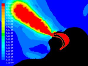Figure 8. HVNI without Mask - velocity