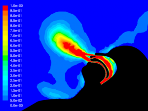 Figure 10. Low Flow Nasal Cannula w/o Mask - vel
